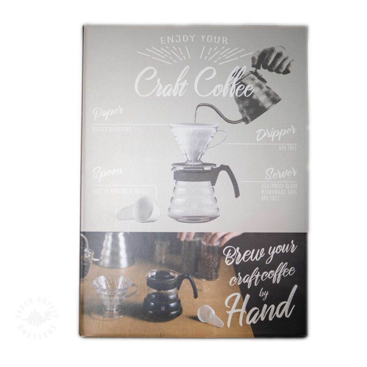 hario v60 craft coffee maker kit